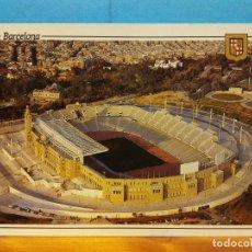 Cartes Postales: ESTADIO OLÍMPICO. BARCELONA. BONITA POSTAL. NUEVA. Lote 188564283