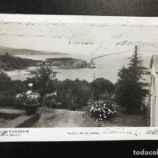 Postales: ANTIGUA POSTAL GERONA GIRONA COSTA BRAVA COSTA DE S'AGARO PLATJA DE LA CONCA ZERKOWITZ CIRCULADA . Lote 188567137