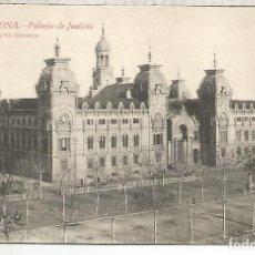 Postales: BARCELONA PALACIO DE JUSTICIA SIN ESCRIBIR. Lote 188653355