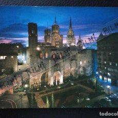 Postales: BARCELONA, POSTAL DEL BARRIO GOTICO, NUMERO 60. Lote 189277058