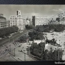 Postales: BARCELONA, POSTAL DE LA PLAZA CATALUÑA, NUMERO 6021. Lote 189278913
