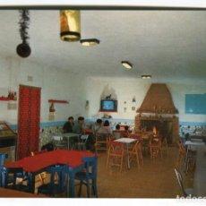 Postales: ULLDECONA -VALENTINS- TARRAGONA BAR MARISOL INTERIOR NUEVA SIN USO. Lote 189731171