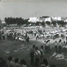 Postales: PALAMÓS- XXIX CONCURSO DE COLLES SARDANISTES- 6-1972-CAMPO DE FUTBOL-FOTOGRÁFICA-PANORAMICA- RARA. Lote 190504196