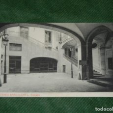 Postales: BARCELONA - ATENEU BARCELONES - ENTRADA, FOTOTIPIA THOMAS, CRIC.1918. Lote 190618052
