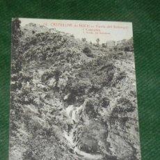Postales: BARCELONA - CASTELLAR DE NUCH. FONTS DEL LLOBREGAT I CASCATES, ROISIN 26, CIRC.1922. Lote 190618578