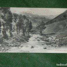 Postales: LOS PIRINEOS VIELLA. TORRENTE DEL RÍO NEGRO Y PUERTO DE VIELLA - FOT. LABOUCHE 366 CIRC.1922. Lote 190620311