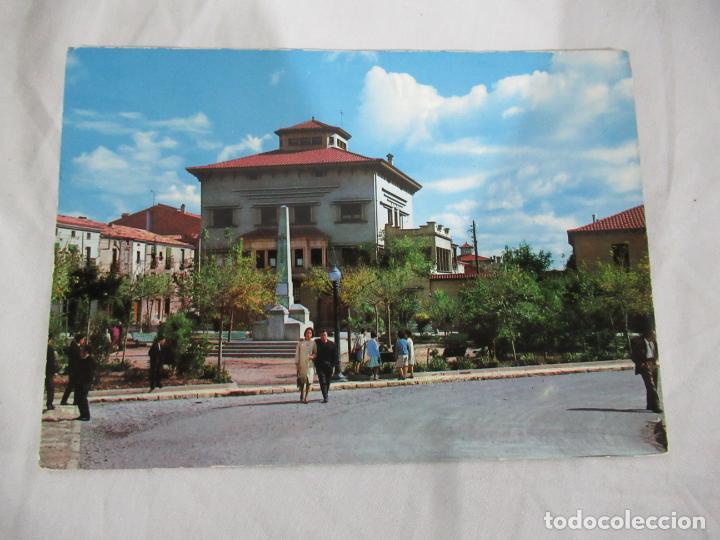 CALAF - PLAZA DE LOS ÁRBOLES - ESCRITA (Postales - España - Cataluña Moderna (desde 1940))