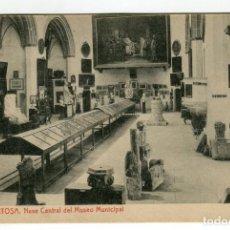Postales: TORTOSA N 11 NAVE CENTRAL DEL MUSEO MUNICIPAL FOTOTIPIA THOMAS SIN ESCRIBIR VER REVERSO. Lote 190817642