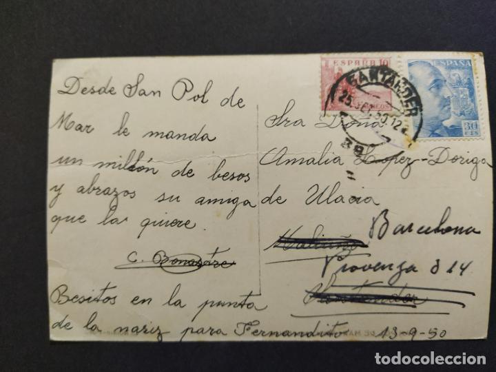 Postales: SANT POL DE MAR-FOTOGRAFICA ROISIN-POSTAL ANTIGUA-(66.252) - Foto 3 - 190871856