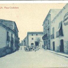 Postales: (PS-62417)POSTAL DE GARRIGUELLA-PLAZA CIUDADANS. Lote 190977678