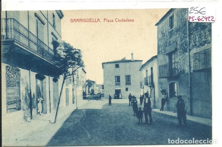 (PS-62422)POSTAL DE GARRIGUELLA-PLAZA CIUDADANS (Postales - España - Cataluña Antigua (hasta 1939))