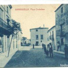 Postales: (PS-62422)POSTAL DE GARRIGUELLA-PLAZA CIUDADANS. Lote 190978123
