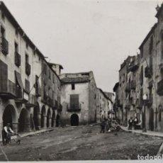 Postales: BELLPUIG-PLAÇA DE LA REPUBLICA-POSTAL FOTOGRAFICA ANTIGA-(66.384). Lote 191099008