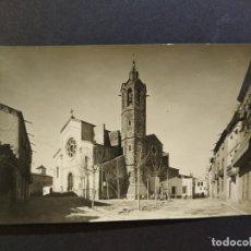 Postales: SANT ANDREU DE LA BARCA-PLAÇA DE L'ESGLESIA-ARCHIVO ROISIN-POSTAL FOTOGRAFICA ANTIGA-(66.387). Lote 191100545