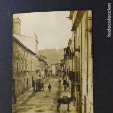 Postales: BANYOLES-BAÑOLAS-CALLE DE TURERS-J.G. 14-POSTAL FOTOGRAFICA ANTIGA-(66.388). Lote 191100705