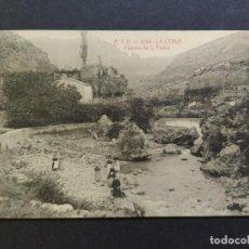 Postales: LA CENIA-FUENTE DE SAN PEDRO-ATV 3134-POSTAL ANTIGA-(66.413). Lote 191105042