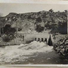 Postales: XERTA-CHERTA-COMPUERTA CANAL DEL RIO EBRO-FOTOGRAFICA-POSTAL ANTIGA-(66.447). Lote 191115335
