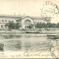 Postales: BARCELONA-LA ADUANA-PUERTO-THOMAS -LB - BARTRINA - 109- AÑO 1905. Lote 191132100