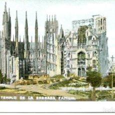 Postales: BARCELONA-TEMPLO SAGRADA FAMILIA-THOMAS -LB - BARTRINA - 1005- AÑO 1905. Lote 191132751