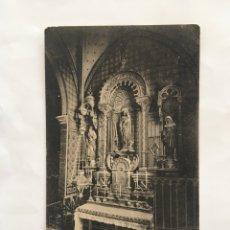 Postales: POSTAL. MONTSERRAT. ALTAR DE SAN JOSÉ. L. ROCA. H. 1925?.. Lote 191146486