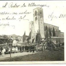 Postales: (PS-62520)POSTAL FOTOGRAFICA DE S.PEDRO DE VILAMAJOR-PROCESION.ARCHIVO FAMILIA VALLET I ARMENGOL. Lote 191237411
