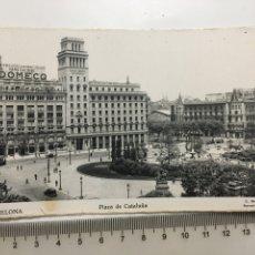 Postales: POSTAL. BARCELONA. PLAZA DE CATALUÑA. C. MAURI. H. 1958?.. Lote 191340022