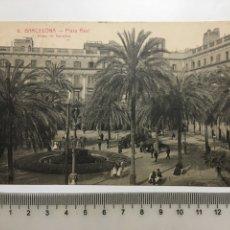 Postales: POSTAL. BARCELONA. PLAZA REAL. L. ROISIN, FOTÓGRAFO. H. 1920?.. Lote 191340282