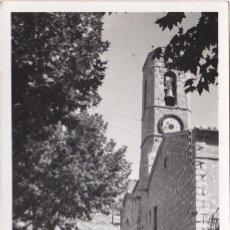Postales: SAN JULIAN DE CERDAÑOLA, PLAZA MAYOR, BARCELONA, SANT JULIA DE CERDANYOLA,. Lote 191475283