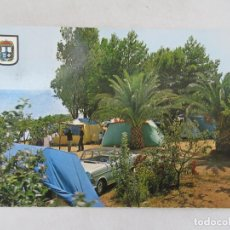 Postales: ALCANAR PLAYA - CAMPING LOS ALFAQUES - CIRCULADA. Lote 191612661