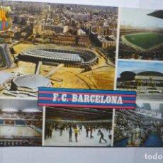 Postales: POSTAL BARCELONA - DIVERSOS ASPECTOS F.C. BARCELONA. Lote 191659067