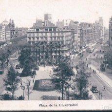 Postales: POSTAL BARCELONA - PLAZA DE LA UNIVERSIDAD - MAURI. Lote 191863620