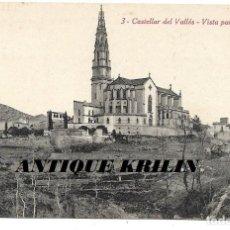 Postales: CASTELLAR DEL VALLES Nº 3 VISTA PARCIAL .- FOTO L. ROISIN . Lote 191932608