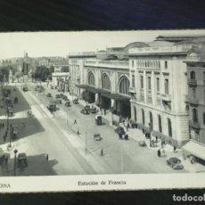 Cartes Postales: BARCELONA - POSTAL ESTACIÓN DE FRANCIA.. Lote 192057558