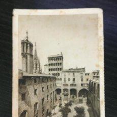 Cartes Postales: BARCELONA - POSTAL PLAZA DEL REY - NAVIGAZIONE GENERALE ITALIANA - EXPOSICIÓN INTERNACIONAL 1929. Lote 192057758