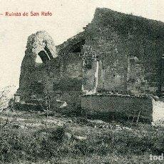 Postales: LERIDA - RUINAS DE SAN RUFO. Lote 192178838