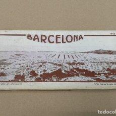 Postales: BARCELONA .TIRA PANORAMICA NUMERO 2 ROISIN .12 POSTALES DOBLES.. Lote 192195431