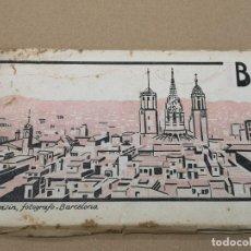 Postales: BARCELONA .TIRA PANORAMICA NUMERO 3 ROISIN .12 POSTALES DOBLES.. Lote 192195468