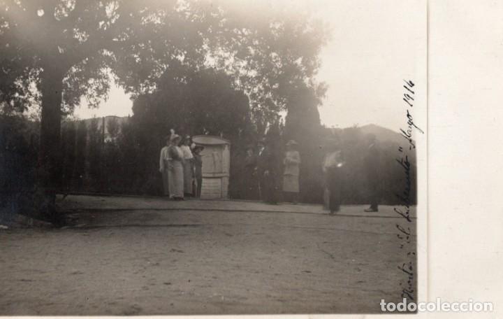 HORTA. EL LABERINTO 1914. FOTOGRÁFICA (Postales - España - Cataluña Antigua (hasta 1939))