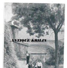 Postales: BERGUEDÁ PAISAJE Y ERMITA S. SALVADOR .- PUBLICIDAD LA BIBLIA DEL PORVENIR CERVERA. Lote 192637255