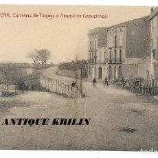 Postales: CERVERA .- CARRETERA DE TARREGÁ O ARREBAL DE CAPUCHINOS .- FOTOTIPIA THOMAS / LIBRERIA BATALLA . Lote 192638232