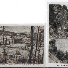 Postales: P-9987. PAREJA DE POSTALES SANTA FE DEL MONTSENY N º1 Y 4.. Lote 192897340