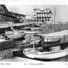 Postales: P-9989. POSTAL ARENYS DE MAR, EMBARCADERO. R. GASSO. Nº7.. Lote 192901690