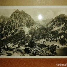 Postales: FOTO POSTAL ESPOT. VALLE MONASTERIO Y LAGO DE S.MAURICIO. ZERKOWITZ. S/C. Lote 192906238