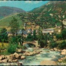Postales: POSTAL 227 VALLE DE ARAN (PIRINEOS DE LÉRIDA) RIO GARONA A SALARDÚ SIN CIRCULAR. Lote 192913206