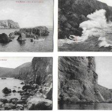 Postales: P-10003. LOTE DE 7 POSTALES LA ESCALA. FOT. ESQUIROL.. Lote 192972492