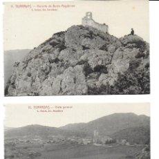 Postales: P-10004. LOTE DE 3 POSTALES TERRADAS. Nº 7, 10 Y 11. L.ROISIN.. Lote 192972963