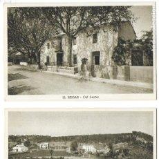 Postales: P-10006. PAREJA POSTALES BEGAS, Nº 7 Y 15.. Lote 192975061