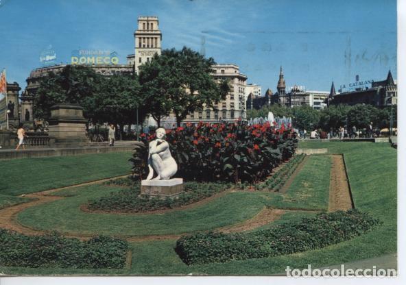 (245) BARCELONA . PLAZA DE CATALUNYA (Postales - España - Cataluña Moderna (desde 1940))