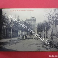 Postales: ALBUM 10 POSTALES OLESA DE MONTSERRAT. SIN USO. Lote 193837482