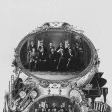 Postales: FOTO POSTAL COBLA LA PRINCIPAL DE LA BISBAL CATALUNYA GIRONA. Lote 193889128